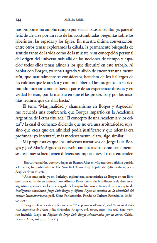 Marginalidad y Chamanismo en Borges y Arguedas
