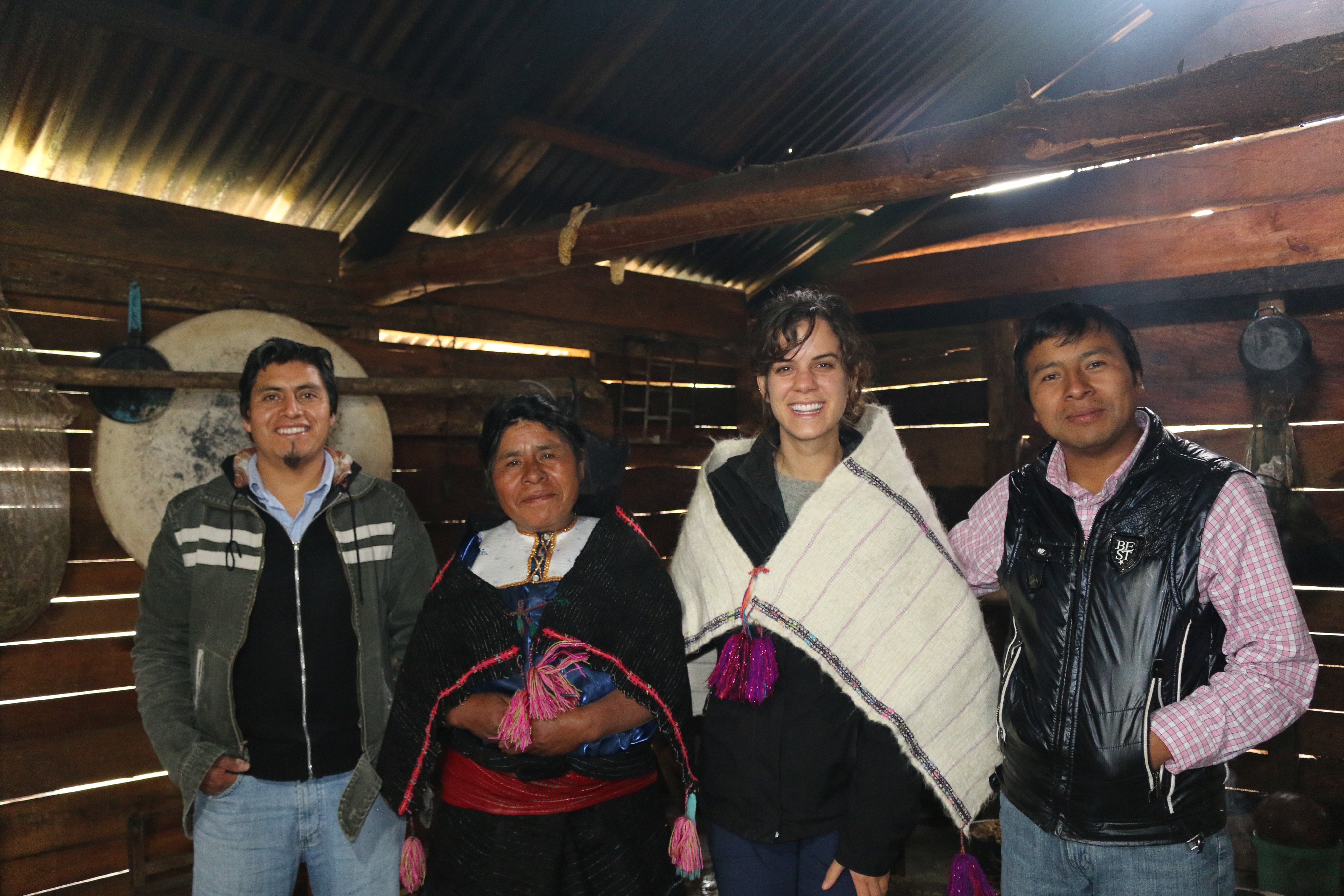 Friends from Cantaro Azul
