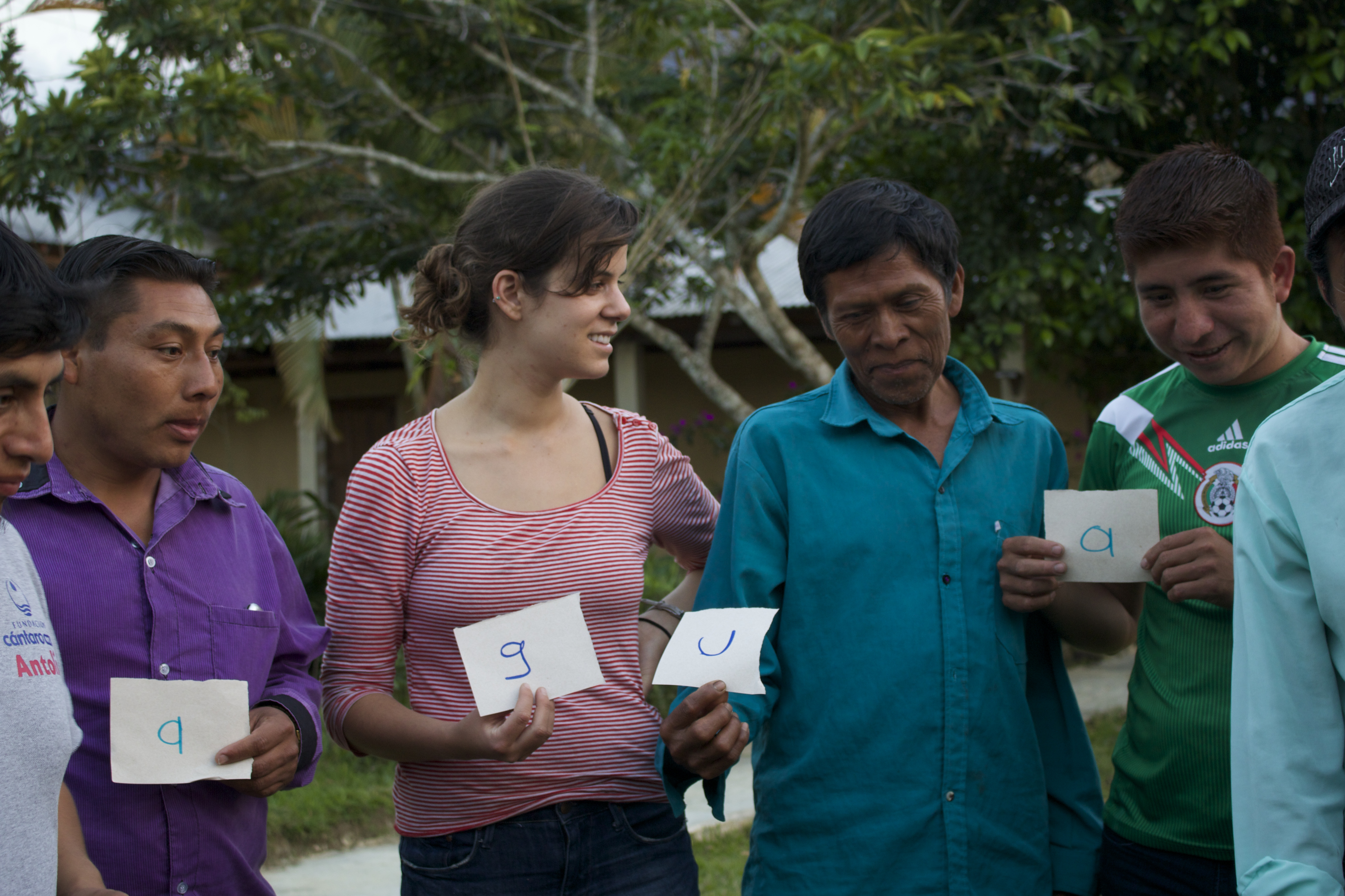 Lindsay volunteering in Chiapas